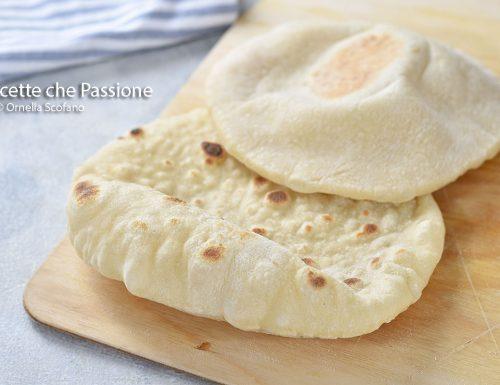 Pane arabo / batbout  o Pita in padella e al forno