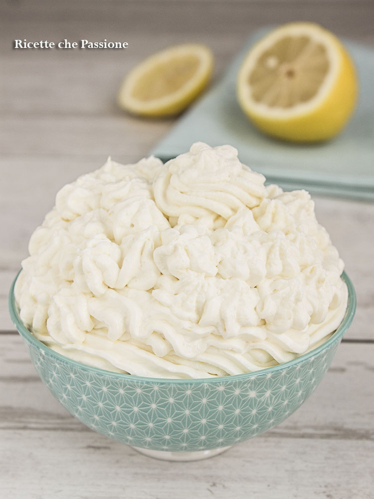 crema al limone senza cottura
