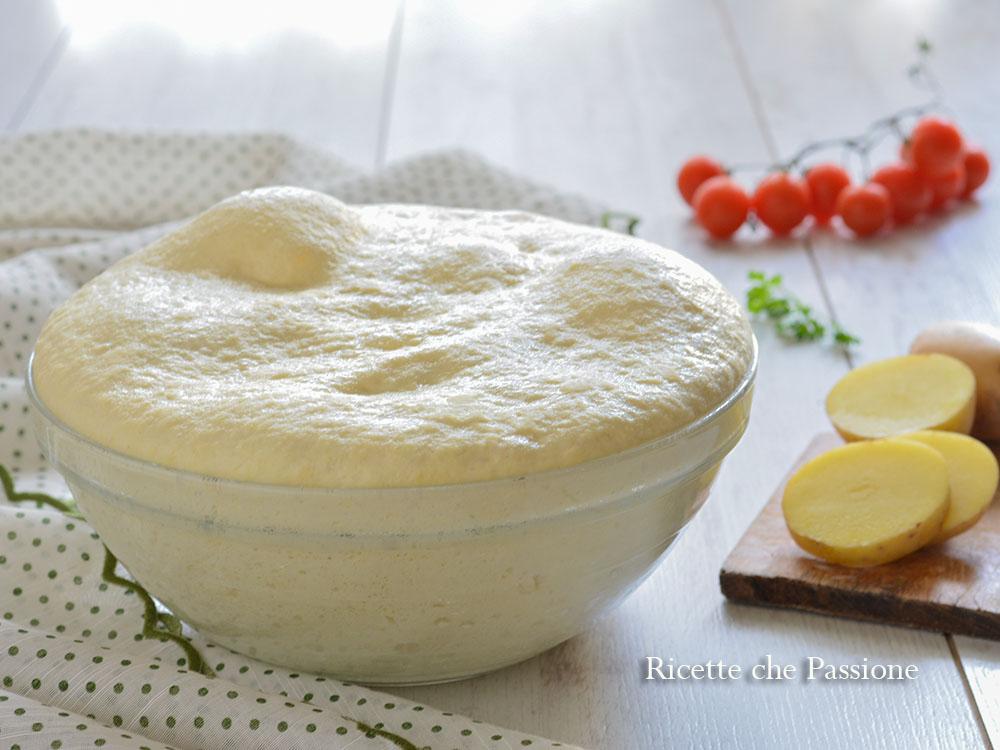 impasto pan di patate