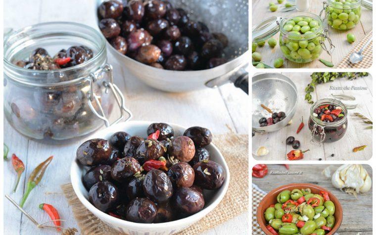 Ricette per conservare le olive