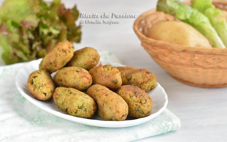 Crocchette di patate e lattuga