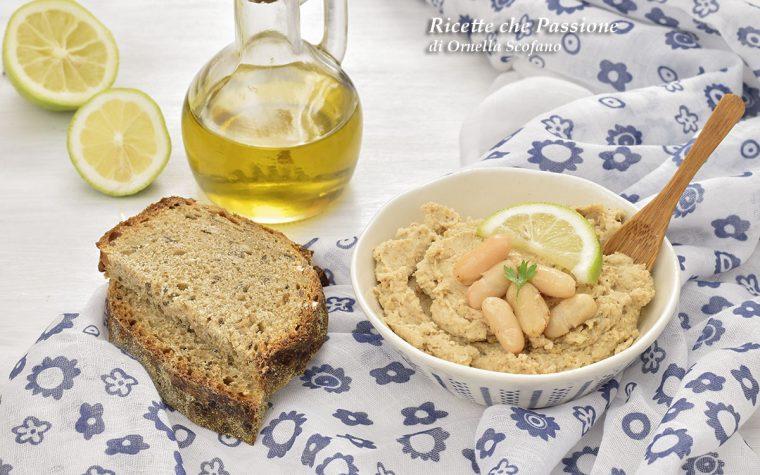 Hummus di fagioli – variante a quello di ceci
