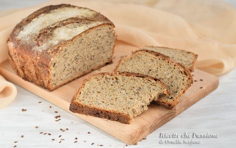 Pane multicereali con semi misti fatto in casa