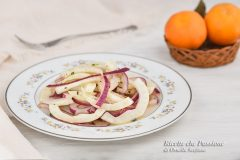 insalata di finocchi in agrodolce