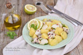 insalata di seppie con patate
