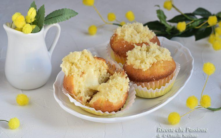Cupcake mimosa – Ricetta veloce e golosa