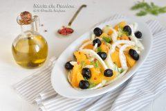 insalata di arance e finocchi con olive nere