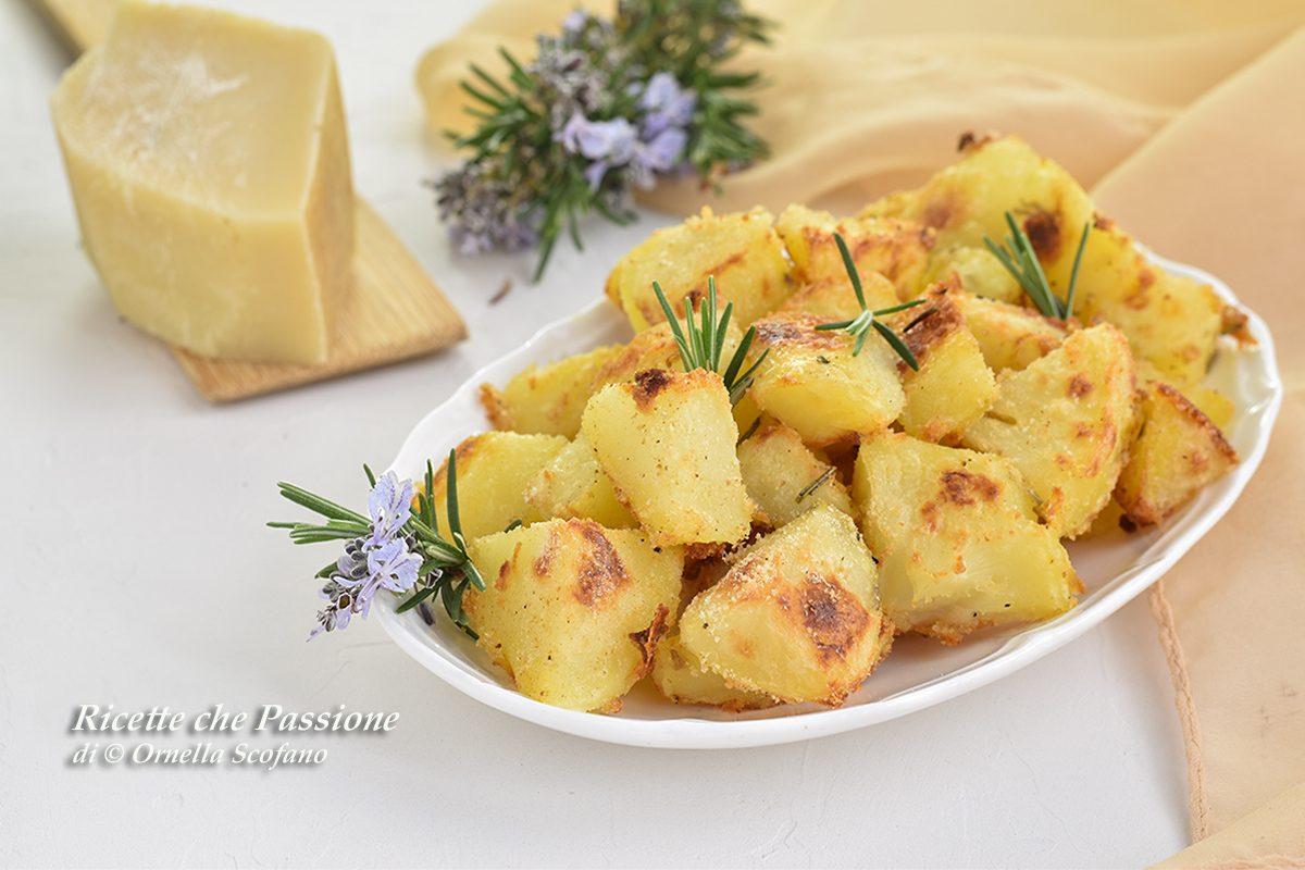 patate sabbiate al parmigiano