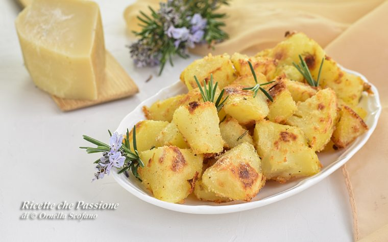 Patate sabbiate al parmigiano – Ricette furba