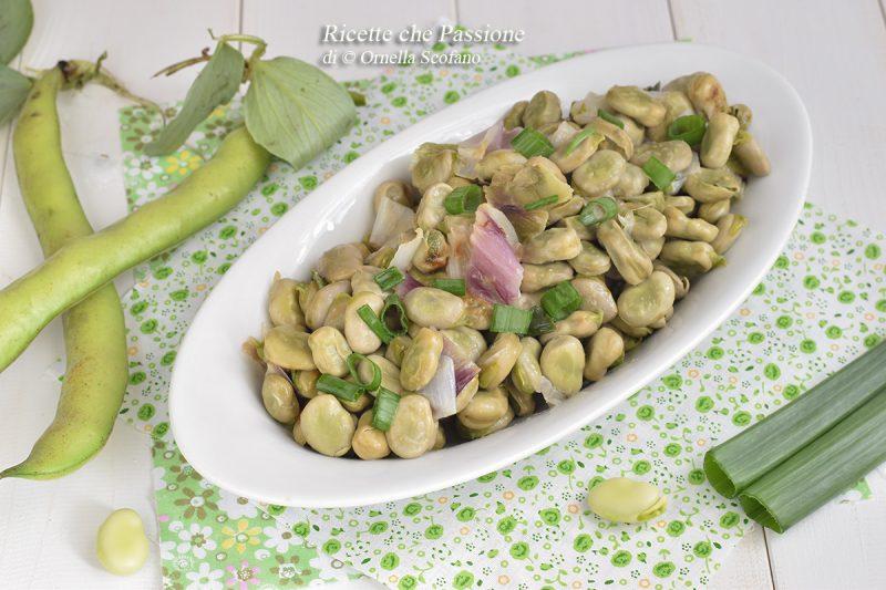 Fave con cipolle – ricetta calabrese
