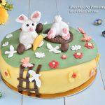 Torta di Pasqua in Pasta di Zucchero