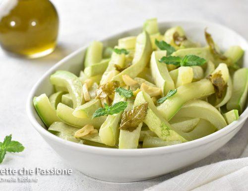 Zucchine all'aceto con menta