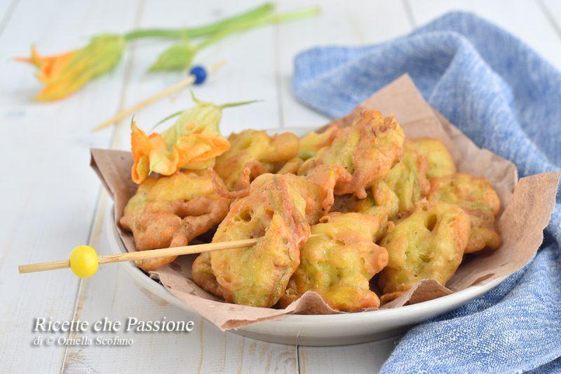 Frittelle di fiori di zucca calabresi – pittilluzze i hjuriddi