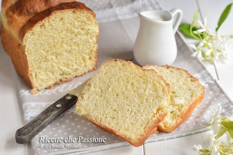Pan brioche alla panna montata nell'impasto