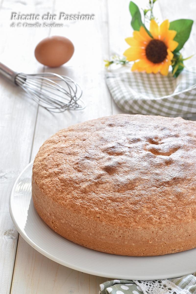 pan di spagna ricetta senza lievito