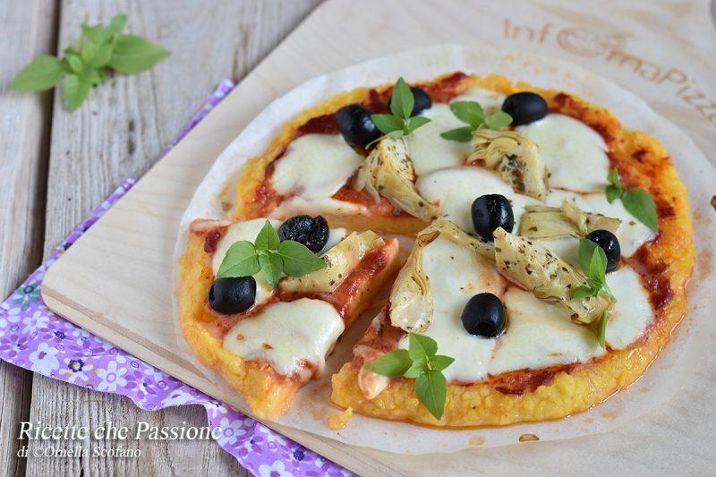 Pizza di polenta – Facile e sfiziosa