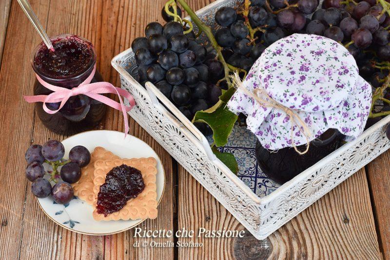 Confettura di uva fragola o mostarda calabrese di Uva