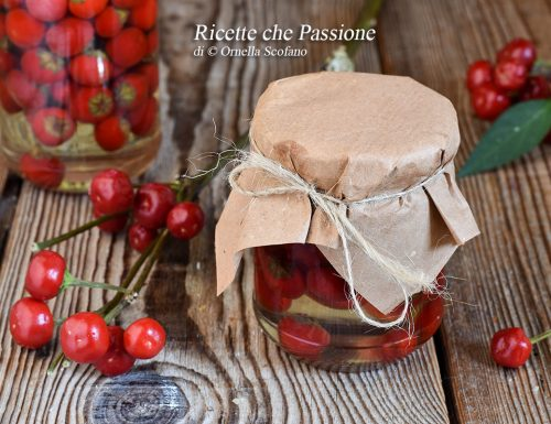 Peperoncini sott'olio – Ricetta calabrese
