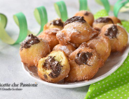 Frittelle alla Nutella Veloci senza bilancia