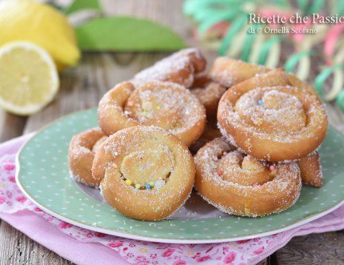 Limoncini dolci di Carnevale -marchigiani