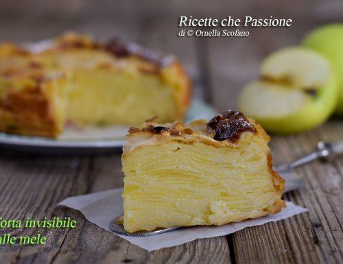 Torta invisibile alle mele – Ricetta facile