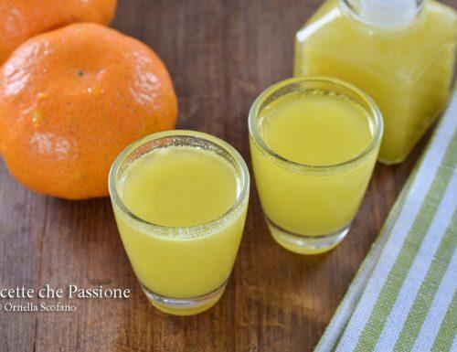 Liquore al mandarino – mandarinetto fatto in casa