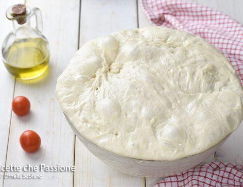 Impasto alta idratazione per pizza pane e focaccia