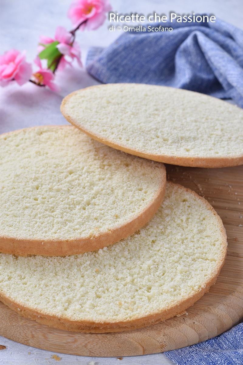 pan di spagna veloce senza lievito