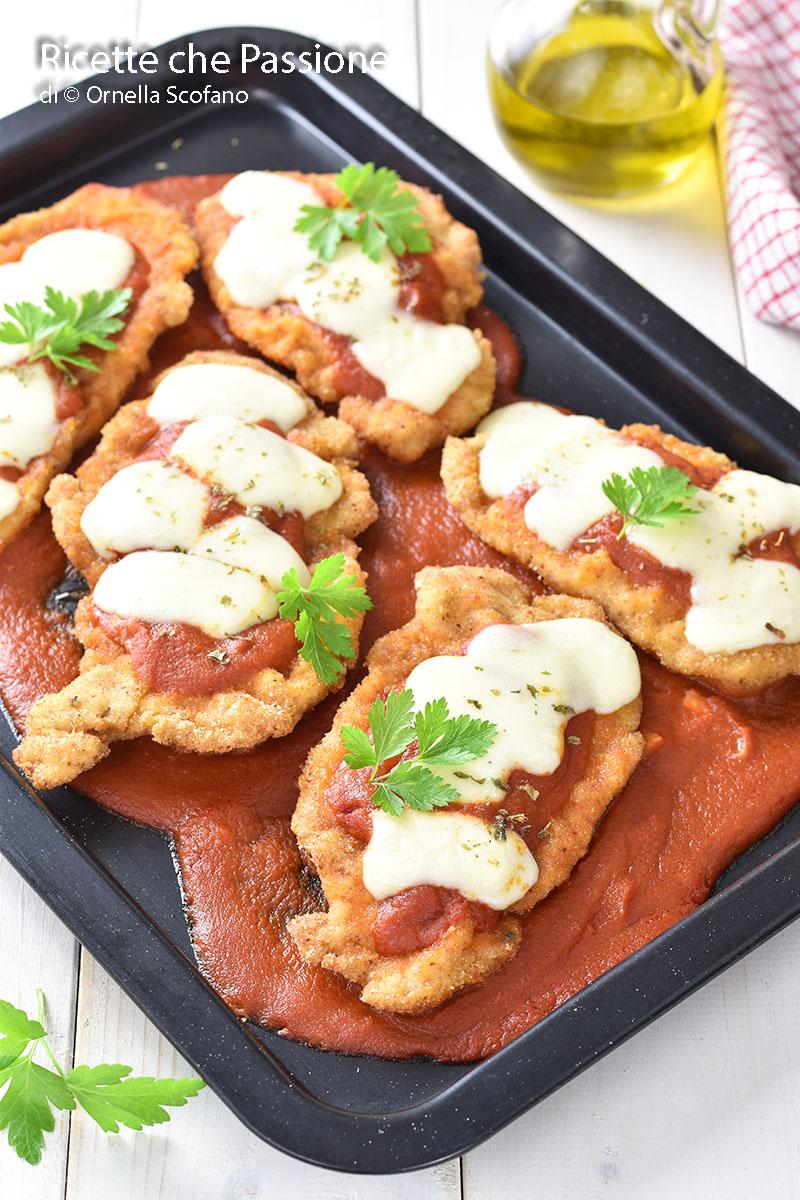 ricetta cotolette di pollo alla pizzaiola