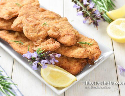 Cotolette di pollo saporite con panatura perfetta
