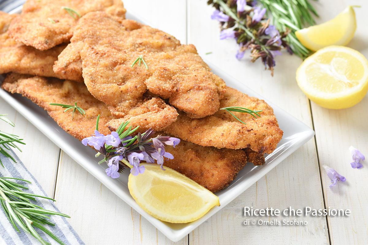 cotolette di pollo con panatura perfetta e saporita fitte o al forno