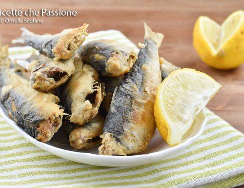 Sarde fritte – frittura di pesce perfetta