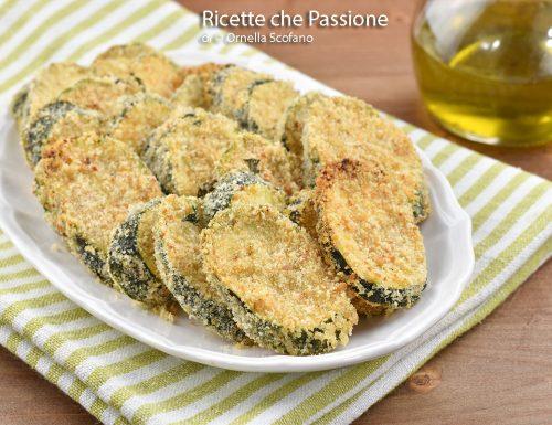 Zucchine gratinate saporite al forno