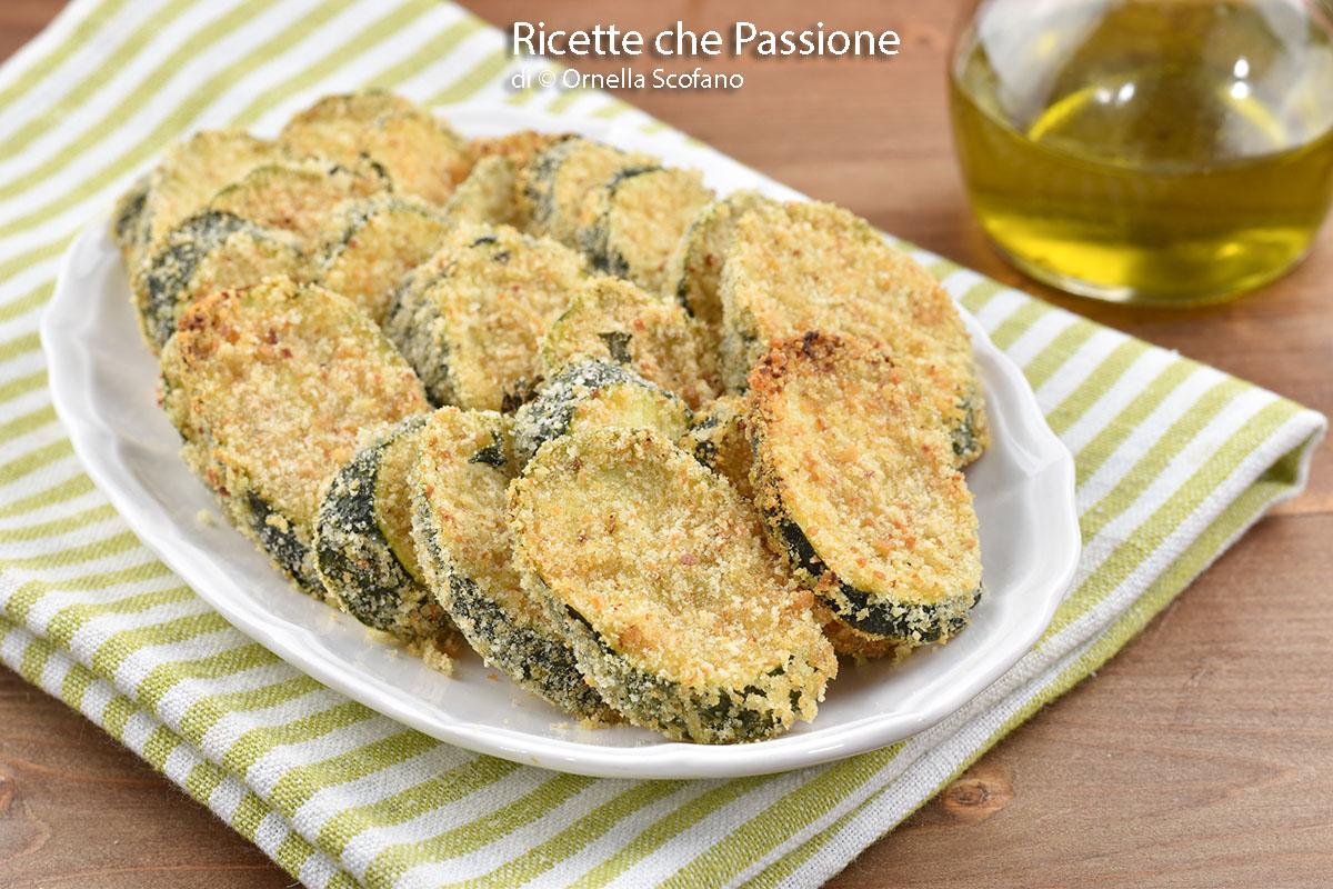 ricetta con zucchine gratinate