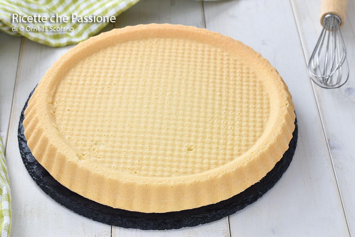 finta crostata morbida buona e veloce più leggera nello stampo furbo