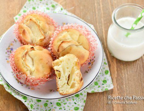 Muffin mele e ricotta facili  e veloci