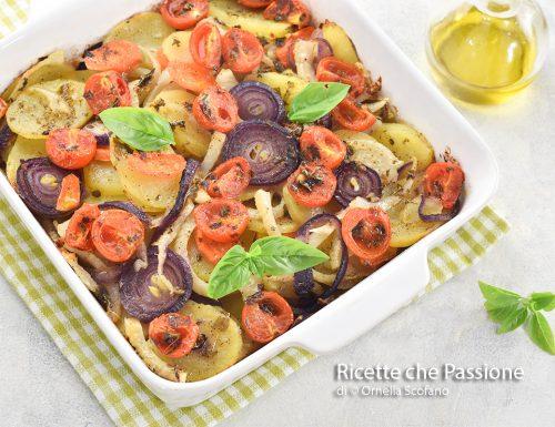 Ratatouille di verdure al forno