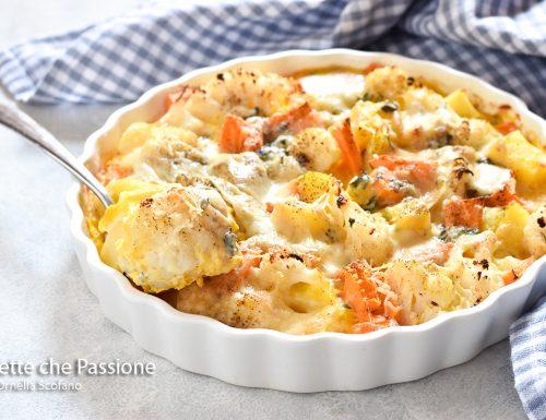 Pasticcio di verdure al formaggio