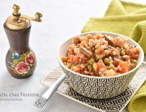 Minestra di orzo con verdure