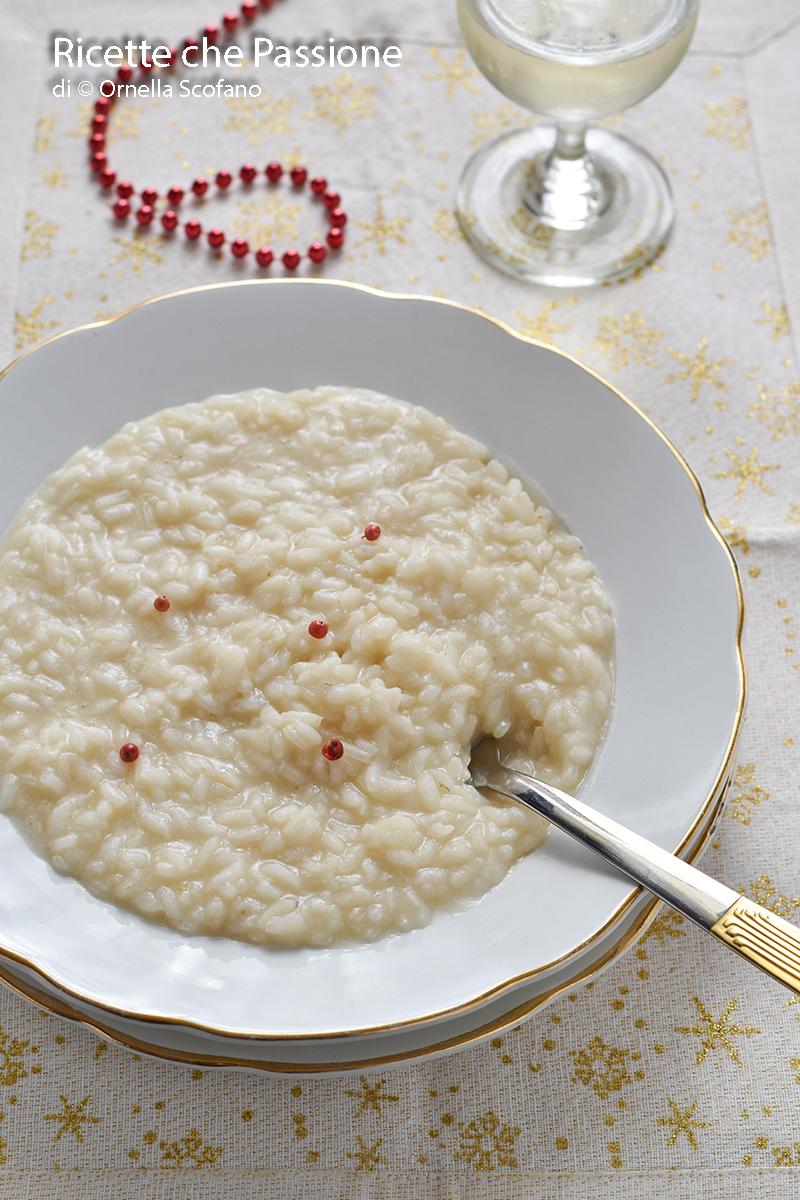 primo raffinato il risotto allo spumante