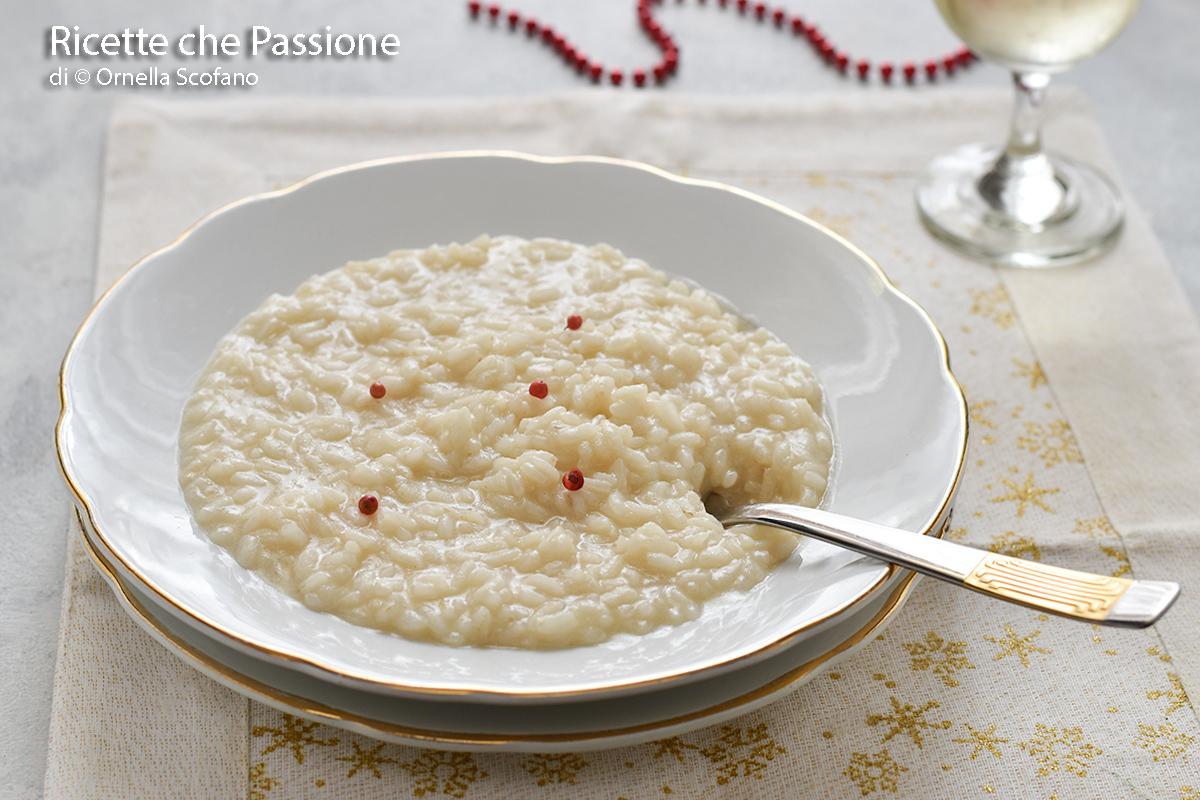 come fare il risotto allo spumante