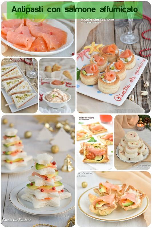 antipasti con salmone affumicato idee sfiziose per le feste
