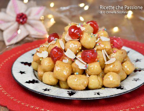 Struffoli ricetta originale napoletana
