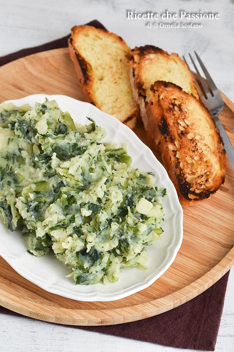 patate con cicoria ricetta