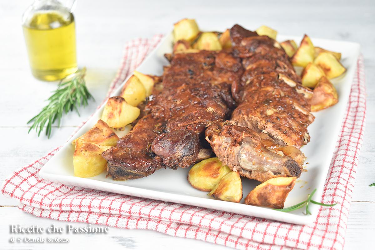 costatine di maiale cotte al forno ricetta perfetta