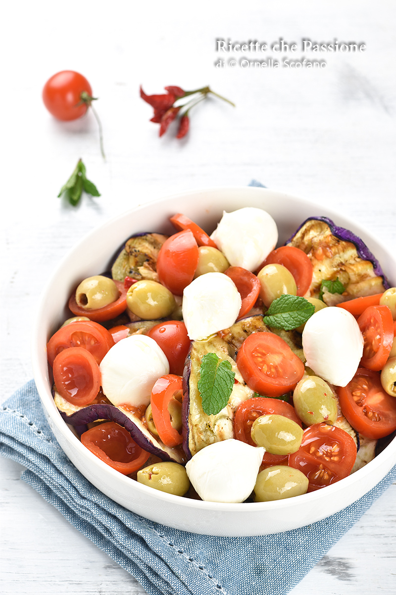 ricette sfiziose con melanzane grigliate