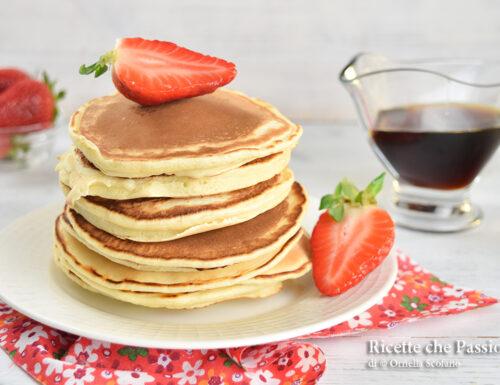 Pancake ricetta base senza burro