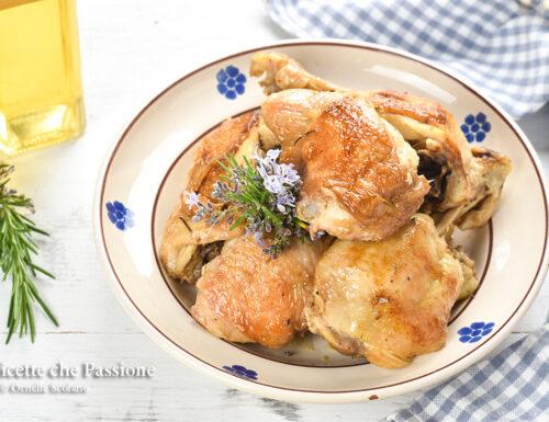 Pollo in padella all'aceto – Ricetta della nonna
