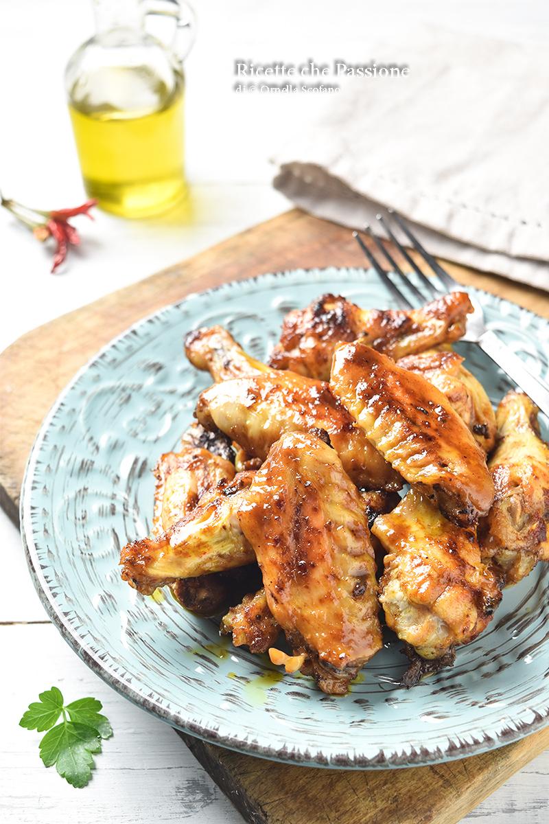 ricetta con ali di pollo