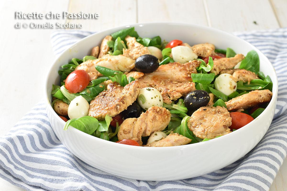 ricetta per insalata di pollo perfetta e leggera